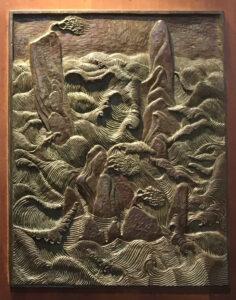 Nature from the Oriental Doors bronze panels
