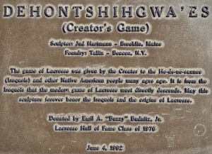 Creator's Game Plaque
