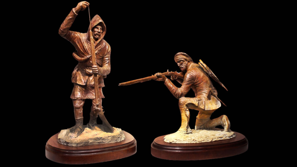 The Ranger and the Marksman Sculpture