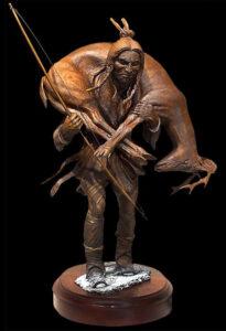 Study of Deerslayer Sculpture