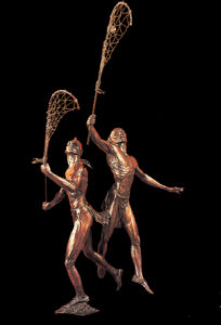 The Creator's Game Sculpture