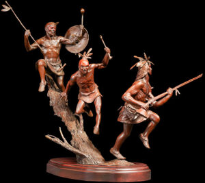 The Roams of the West Sculpture