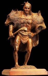 Study of Susquehannock Sculpture