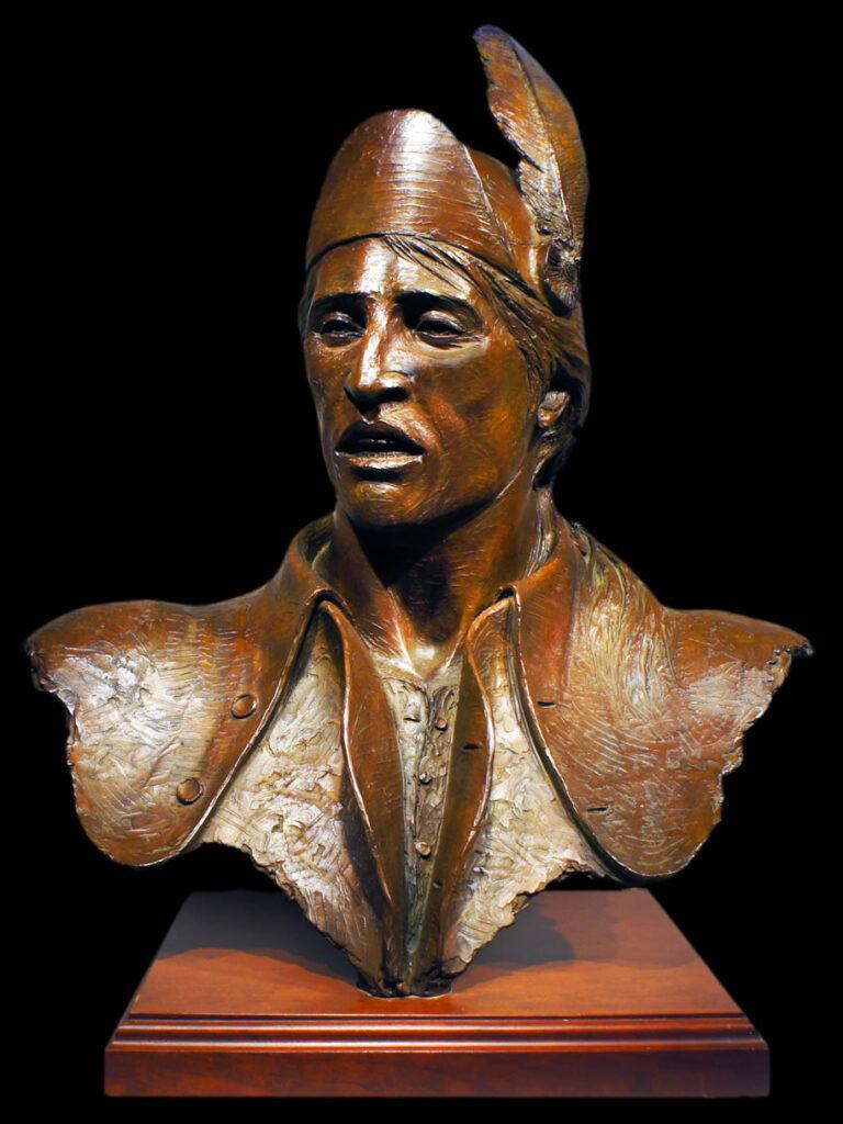 Major Robert Rogers Sculpture