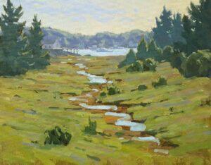 Back Door To Corea Painting