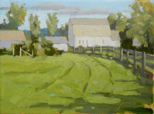 Buttonwood Farm Painting