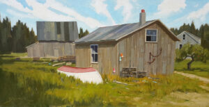 Fishermans Yard Painting