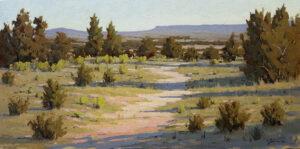 Galisteo Basin Spring Painting