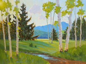 Mountain Meadow Painting