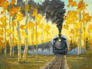 Rio Grande Gold Painting