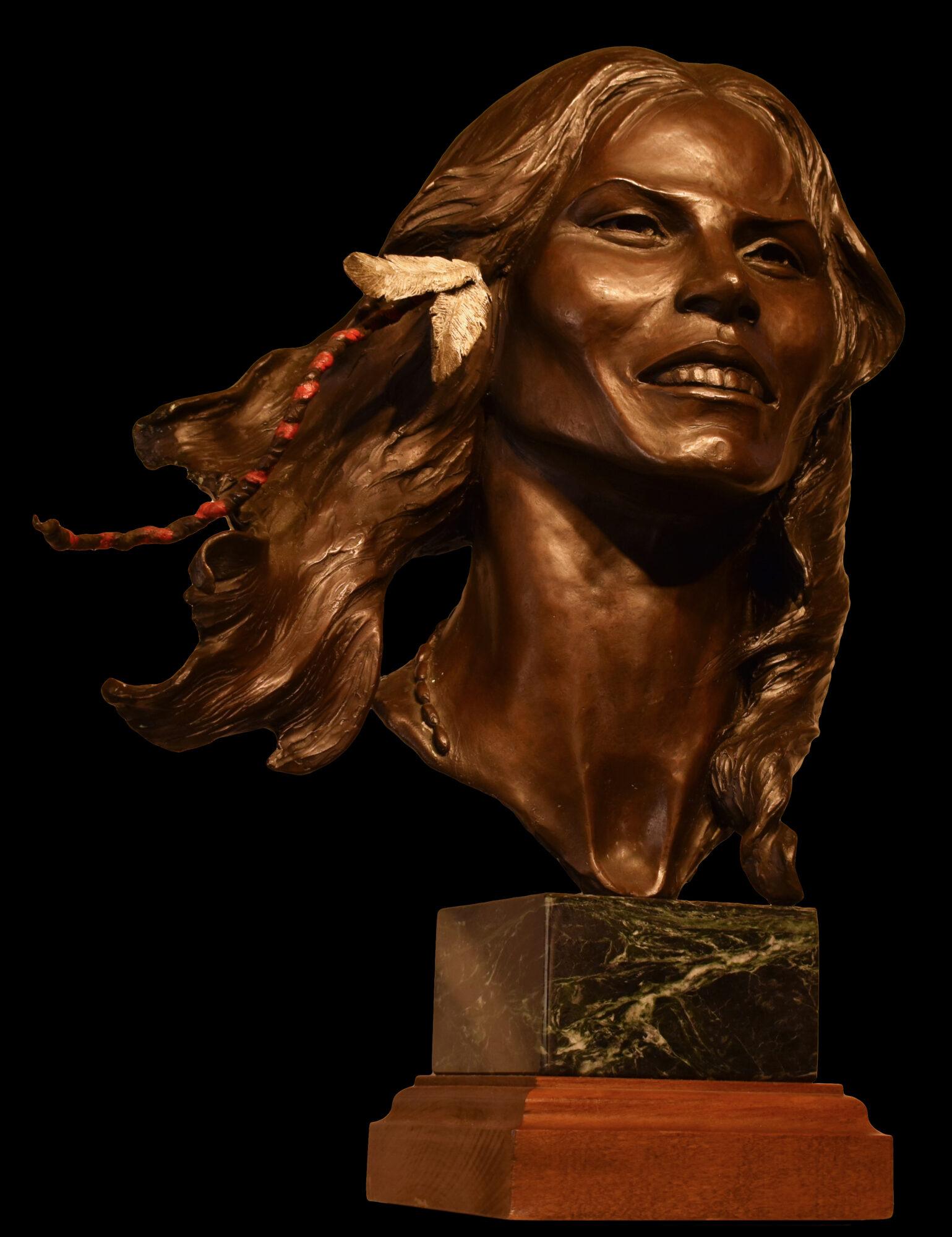 Deono:gwe-ga:ha Sculpture