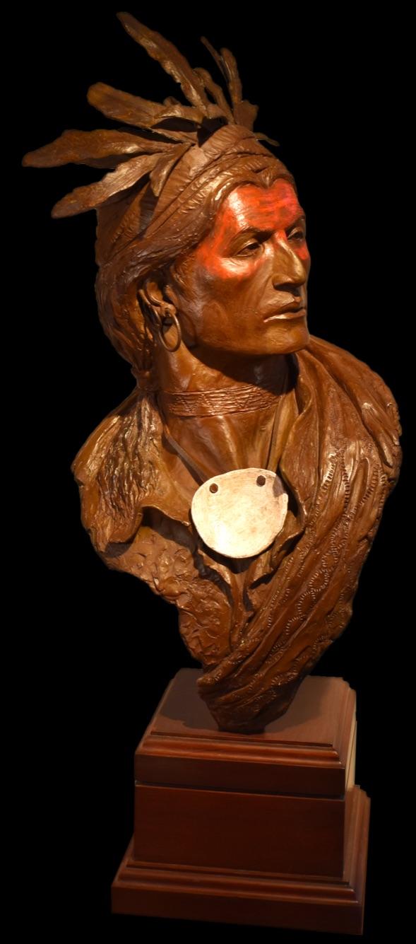 Joseph Brant Sculpture