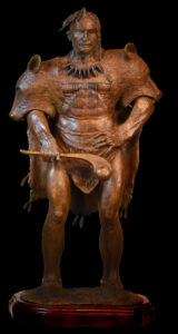 The Chiefe Wereowance of the Susquehannock Sculpture