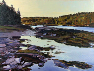 Evening Cove Painting