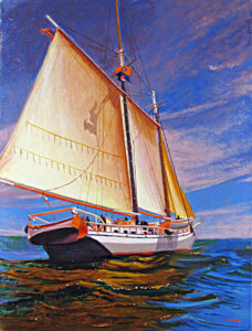Issac H. Evans Painting