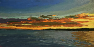 Evening Arrives Painting