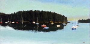 Bucks Harbor Bucks Harbor Calm Painting