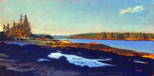 Maine Cove Painting
