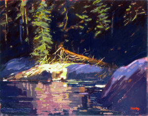 Seal Cove High Tide Painting